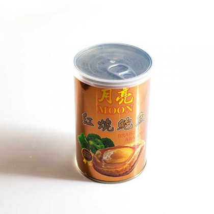 Moon Brand Abalone w Brown Sauce 月亮牌红烧鲍鱼 (6 heads)