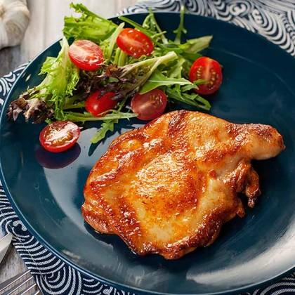 Honey Tomato Chicken Chop 蜜汁番茄鸡扒 (Marinated - 1pc)