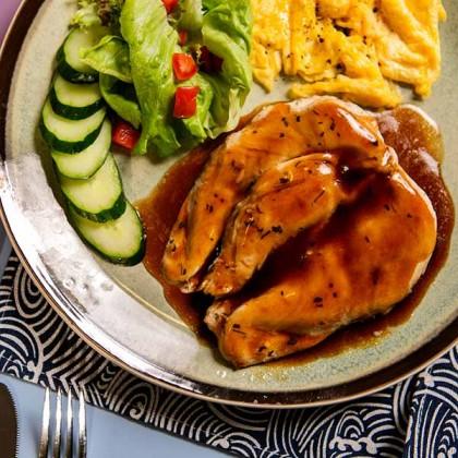 Teriyaki Sauce Chicken Breast 日本照烧汁鸡胸 250gm