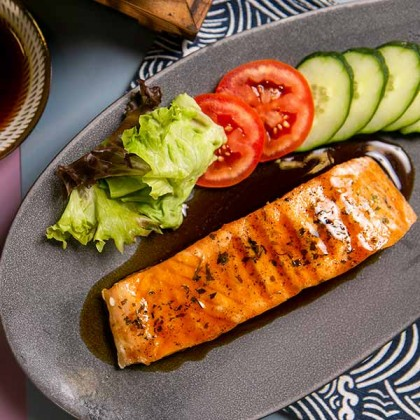 Teriyaki Sauce Norway Salmon Fillet 日式照烧挪威三文鱼 200gm±