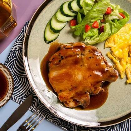 Teriyaki Sauce Chicken Chop 日本照烧汁鸡扒 200gm±